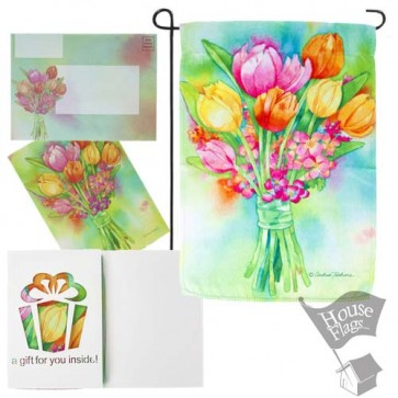 Perfect Petals Garden Flag (EverGreeting Set)