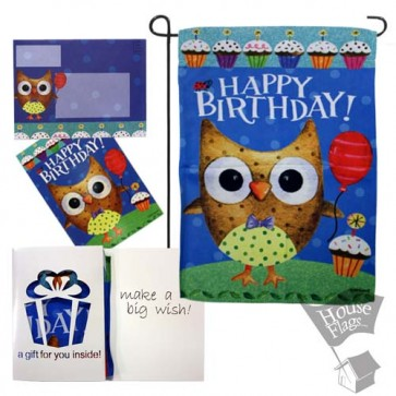Make a Big Wish Garden Flag (Evergreetings Set)