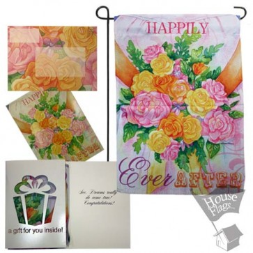 Happy Ever After Garden Flag (EverGreetings Set)