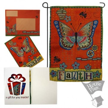 Faith Garden Flag (Evergreeting Set)