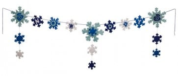 Snow Days Clothesline Banner (15 Feet Long)
