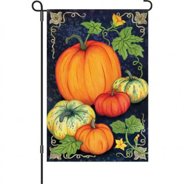 Heirloom Pumpkins Garden Flag