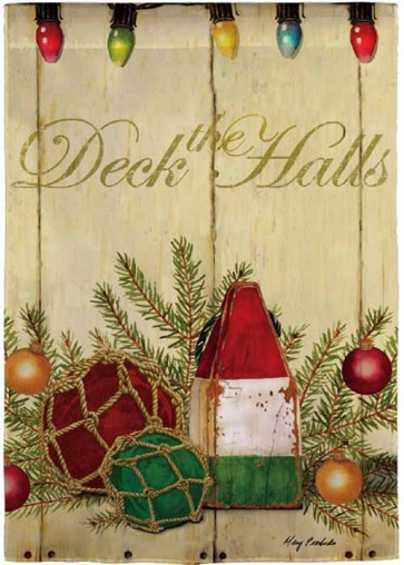 Deck The Halls  House Flag