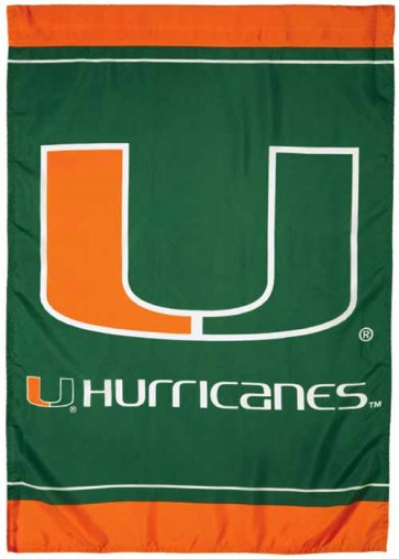 University of Miami  House Flag
