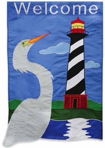 Coastal Welcome Garden Flag