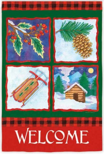 Winters Bliss   House Flag