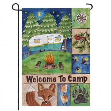 Welcome to Camp Garden Flag