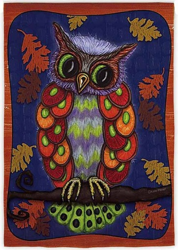 Colorful Owl House Flag