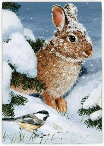 Winter Cottontail    House Flag