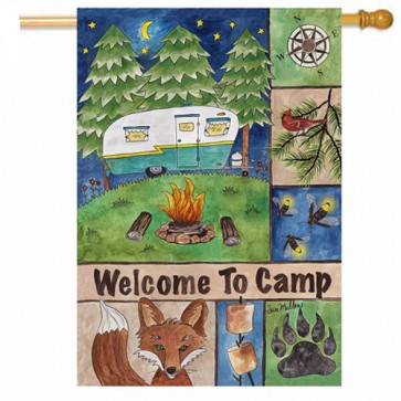 Welcome to Camp House Flag