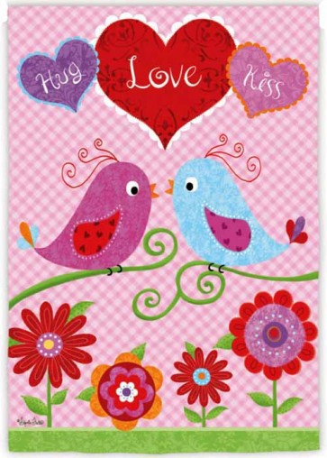 Love Birds      House Flag