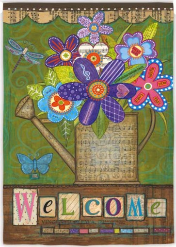 Welcome Bouquet   House flag