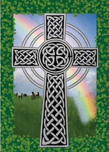 Celtic Cross House Flag
