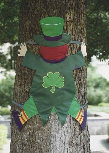 Leprechaun Tree Splat
