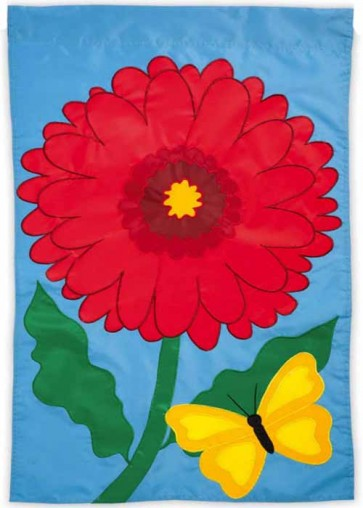Gerber Delight Garden Flag