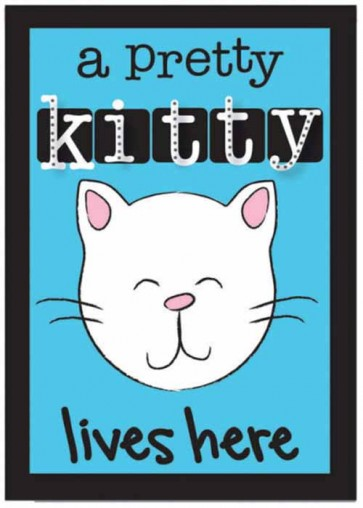 Pretty Kitty Garden Flag