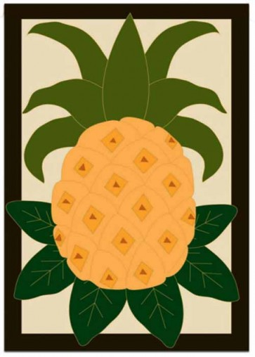 Grand Pineapple   Garden Flag