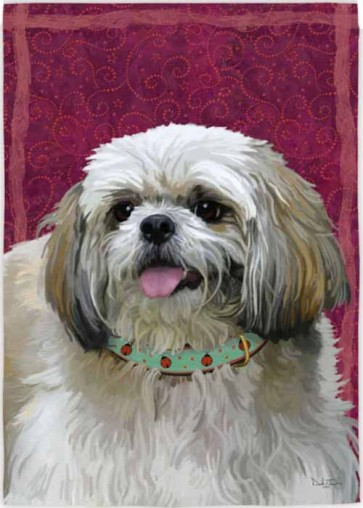 Shih Tzu   House Flag