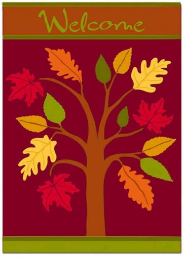Fall Foliage   House flag