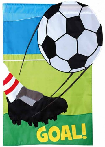 Soccer Goal   House Flag