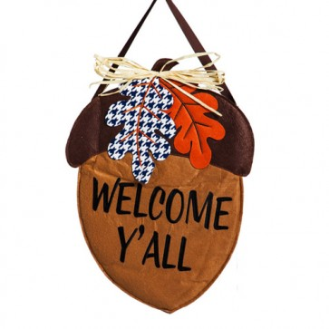 Welcome Felt Door Hanger