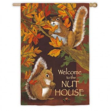 All Nuts Here House Flag
