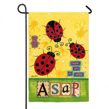 Always Say A Prayer Garden Flag