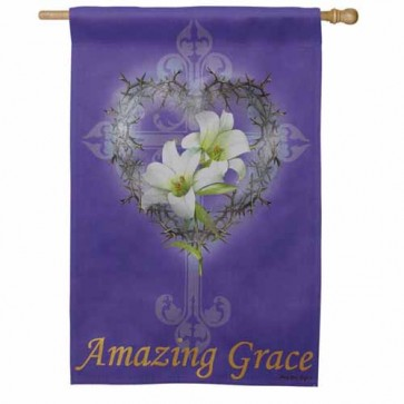 Amazing Grace House Flag