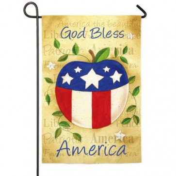 America the Beautiful Garden Flag (Two Flags in One!)
