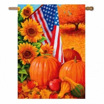 American Fall House Flag