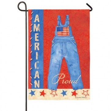American the Beautiful Garden Flag