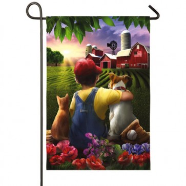 Another Perfect Day Garden Flag