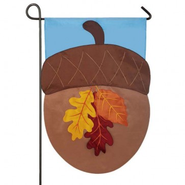 Autumn Acorn Garden Flag
