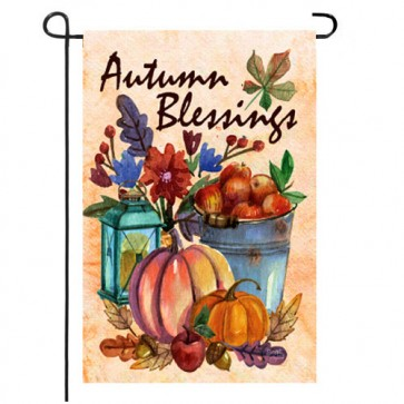 Autumn Blessings Fall Garden Flag