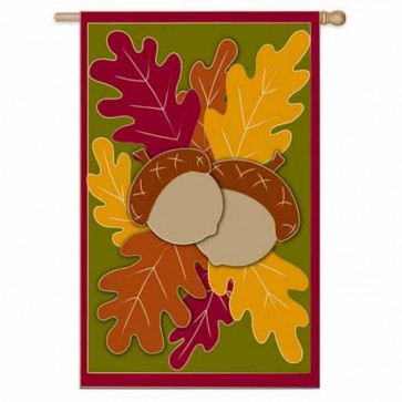 Autumn Oaks House Flag