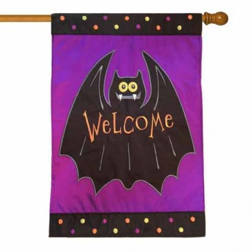 Batty Welcome House Flag