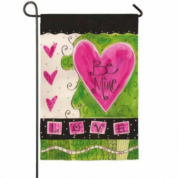 Be Mine Garden Flag