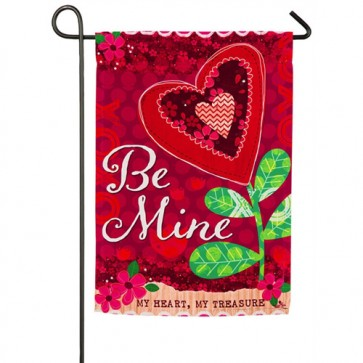 Be Mine Valentine's Day Garden Flag
