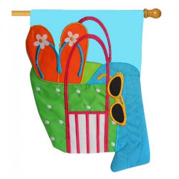 Beach Bag House Flag