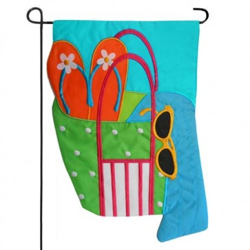 Beach Bag   Garden Flag