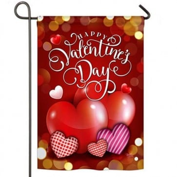 Beloved Valentine's Day Garden Flag