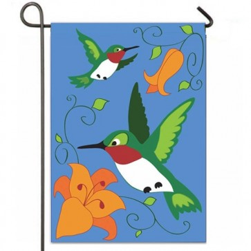 Birds in Flight Garden Flag