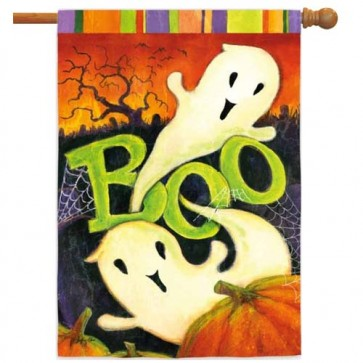 Boo Ghost House Flag