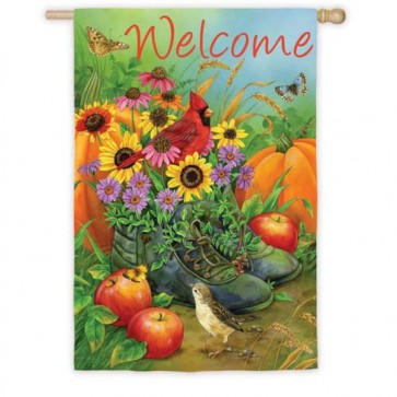Boot Bouquet House Flag