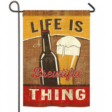 Brewtiful Thing Garden Flag