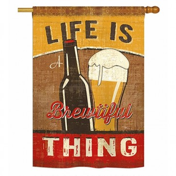 Brewtiful Thing House Flag