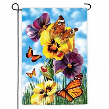 Butterfly Ball Garden Flag