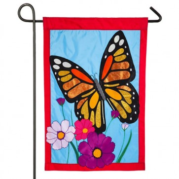 Butterfly Spring and Summer Garden Flag