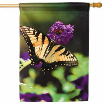 Butterfly House Flag