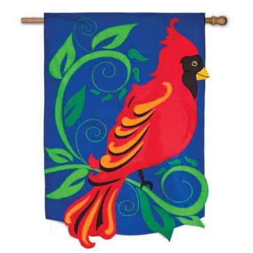 Cardinal   Estate Size flag : 36 inches by 54 inches.